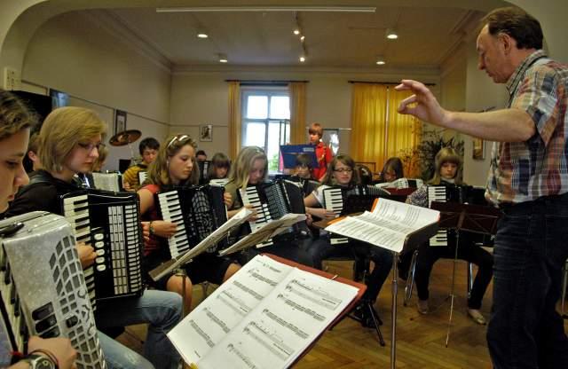 Projektorchester Akkordeon
