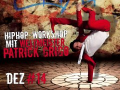 HipHop-Workshop mit Patrick Grigo